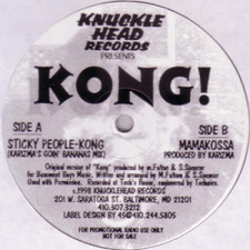 "Sticky People/Karizma - Kong - 12"" Vinyl"