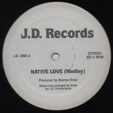 """Divine/Sparks/Carol Jiani - Native Love(Medley)/Beat the Clock - 12"""" Vinyl"""