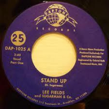 "Lee Fields/Sugarman & Co - Stand Up - 7"" Vinyl"