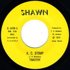 "Timothy Mcnealy - K.C. Stomp - 7"" Vinyl"