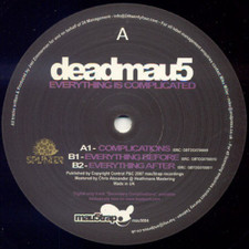 "Deadmau5 - Everything is Complicated - 12"" Vinyl"