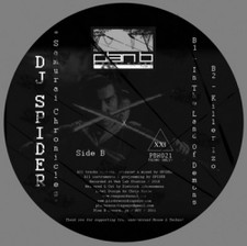 "DJ Spider - Samurai Chronicles - 12"" Vinyl"