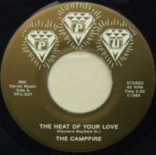"The Campfire - Heat of Your Love - 7"" Vinyl"