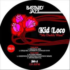 "Kid Loco - My Daddy Waza - 12"" Vinyl"