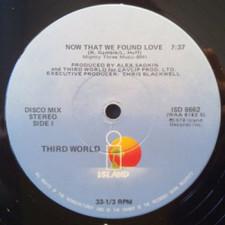 """Third World - Now That We Found Love - 12"""" Vinyl"""