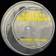 "Theo Parrish - Natural Aspirations 1 - 12"" Vinyl"