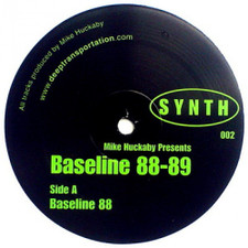 "Mike Huckaby - Baseline 88-89 - 12"" Vinyl"