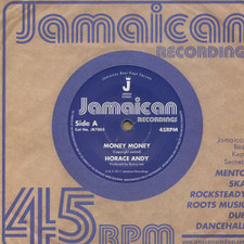 "Horace Andy - Money Money/Version - 7"" Vinyl"