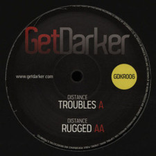 "Distance - Troubles/Rugged - 12"" Vinyl"