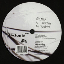 "Grenier - Uncertain/Vendetta - 12"" Vinyl"