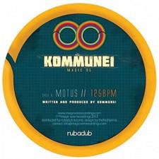 """Kommune1 - Motus/Shadow Kick - 10"""" Vinyl"""