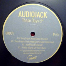 "Audiojack - These Days JIMMY EDGAR Rmx - 12"" Vinyl"