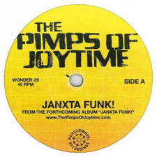 "Pimps Of Joytime - Janxta Funk!/Honey Of Your Smile - 7"" Vinyl"