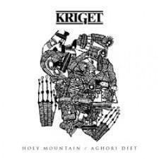 "Kriget - Holy Mountain/Aghori Diet - 7"" Vinyl"