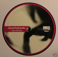 "Grand Theft Audio - Keep Moving - 12"" Vinyl"