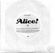 "Life Force Trio - Alice! - 7"" Vinyl"