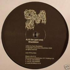 """Shackleton - El Din - 10"""" Vinyl"""