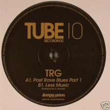 "TRG - Post Rave Blues - 10"" Vinyl"