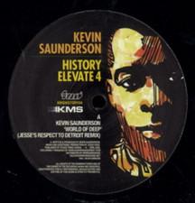 "Kevin Saunderson - History 4 - 12"" Vinyl"