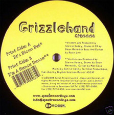 "Grizzlehand - It's Disco Dub - 12"" Vinyl"
