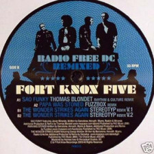 "Fort Knox Five - Radio Free DC 6 - 12"" Vinyl"