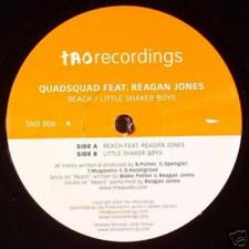 """Quadsquad - Reach - 12"""" Vinyl"""