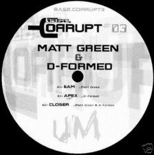 "Matt Green & D-formed - Base Corrupt #3 - 12"" Vinyl"
