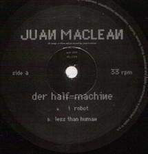 "Juan Maclean - Der Half-Machine - 10"" Vinyl"