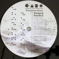 """Wedge & Aesoteric A - Night On the Wonk - 12"""" Vinyl"""