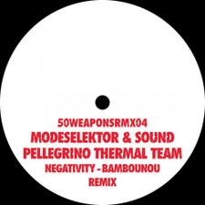 "Modeselektor & Sound Pellegrino - Negativity - Bambounou Remix - 12"" Vinyl"