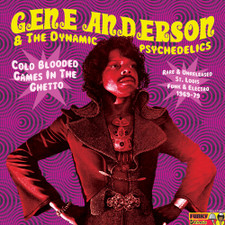 Gene Anderson & The Dynamic Psychedelics - Cold Blooded - LP Vinyl