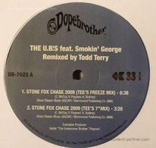"U.B.'s - Stone Fox Chase 2009 (Todd Terry Remixes) - 12"" Vinyl"
