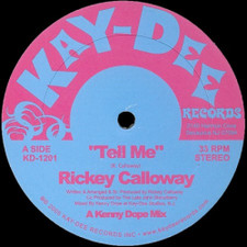 "Rickey Calloway - Tell Me - 12"" Vinyl"