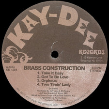 "Brass Construction - Take It Easy (Kenny Dope Mixes) - 12"" Vinyl"