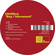 "Mothboy - Beg/Movement - 12"" Vinyl"