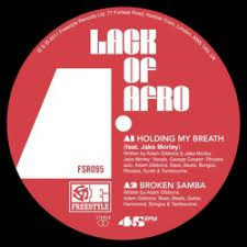 "Lack Of Afro - Holding My Breath - 12"" Vinyl"