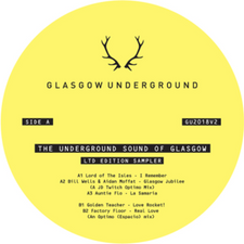 "Optimo - Underground Sound Of Glasgow Sampler - 12"" Vinyl"