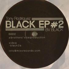 "Tony Rodriguez - Black Ep #2 - 12"" Vinyl"