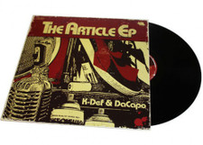 "K-Def & DaCapo - The Article Ep - 12"" Vinyl"