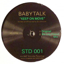 "Babytalk - Keep On Move - 12"" Vinyl"