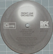 "Front Line Orchestra - Dont' Turn Your Back - 12"" Vinyl"