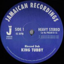 """King Tubby - Blessed Dub - 10"""" Vinyl"""