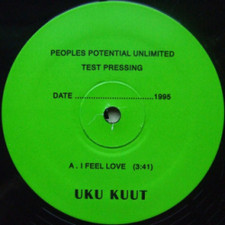 "Uku Kuut - I Feel Love - 12"" Vinyl"