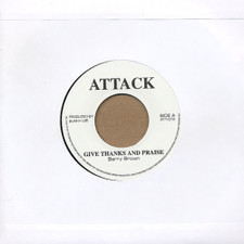 "Barry Brown - Give Thanks & Praise - 7"" Vinyl"