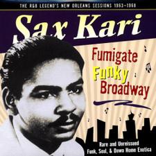 Sax Kari - Fumigate Funky Broadway - LP Vinyl