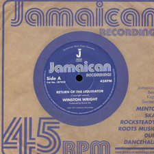 "Winston Wright - Return of the Liquidator - 7"" Vinyl"