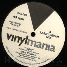 """Man Friday - Jump - 12"""" Vinyl"""