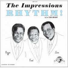 """The Impressions - Rhythm/Star Bright - 7"""" Vinyl"""