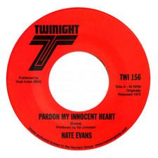"Nate Evans - Pardon My Innocent Heart - 7"" Vinyl"