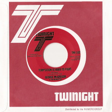"George McGregor & Bronzettes - Temptation Is Hard To Fight - 7"" Vinyl"